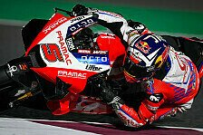 MotoGP Katar: Zarco holt Bestzeit in FP4, Bradl stürzt