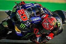 MotoGP-Test - Gedämpfte Freude bei Yamaha: Werden wieder leiden