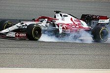 Kimi Räikkönen entgeht Sainz-Crash: Wollte Spielchen treiben