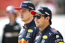 Red Bull adelt Sergio Perez: Erwartungen beim Test voll erfüllt