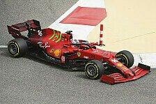 Formel 1, Bahrain-Test: Ferrari trotz Motor-Anomalie im Plan