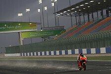 MotoGP-Test Katar: Sandsturm sorgt für Stillstand zum Abschluss