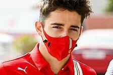 Formel 1 - Leclerc glaubt an Ferrari-Chance: Die Daten passen