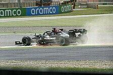 Formel 1, Hamilton klagt nach Fehler: Heck wegen Regeln nervös