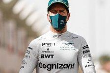 Sebastian Vettel verliert 'signifikant' Testzeit: Aston zittert
