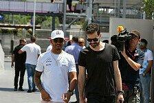 Lewis Hamilton privat: Rechte Hand weg, Umzug nach London?