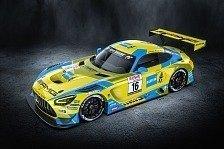 24h Nürburgring 2021: HRT-Mercedes im ikonischen Bilstein-Look
