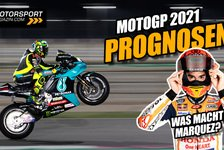 MotoGP - Video: MotoGP-Prognosen 2021: WM-Tipps, Rossi & Marquez