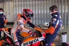Marc Marquez testet in Portimao, MotoGP-Comeback noch offen