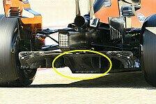 Formel 1 Technik: McLarens Diffusor-Trick erklärt