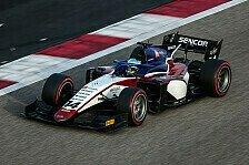 David Beckmann ist nach gutem Test bereit für die Formel 2