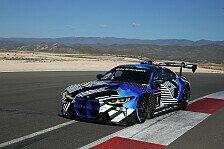 BMW M4 GT3 bereit für erste Testrennen 2021