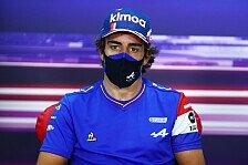 Formel 1, Alonso von Altersfrage genervt: Verweis auf Hamilton