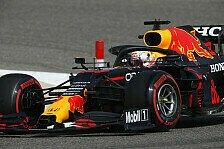 Formel 1, Bahrain 1. Training: Verstappen schlägt Mercedes
