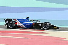 Formel 2: Guanyu Zhou sichert sich Pole für Bahrain-Hauptrennen
