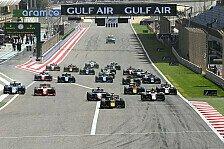 Formel 2 & Formel 3 ändern Format: Experiment gescheitert