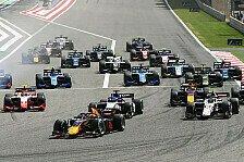 Formel 2 und Formel 3: Neuer Rennkalender für 2022 offiziell