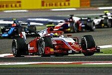 Formel 2: Weiterer Rookie-Sieg beim Nachtrennen in Bahrain