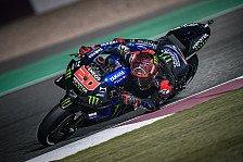 MotoGP Katar: Quartararo ringt Ducati in einem Krimi nieder