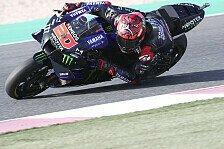 MotoGP Katar 2021: Fabio Quartararo setzt sich im Warm-Up durch