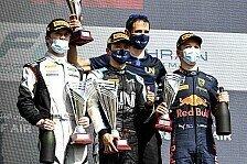Formel 2 2021: Bahrain GP - Rennen 1 bis 3