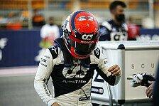 Formel 1 - Video: Ein Blick hinter die Kulissen von Yuki Tsunodas Formel-1-Debüt