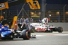 Formel 1, Mazepin erklärt Crash: Wollte Schumacher ausweichen