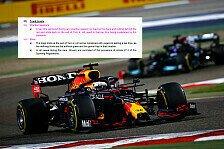 Track-Limits-Chaos in der Formel 1: Verstappen um Sieg beraubt?