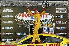 NASCAR 2021: Fotos Rennen 7 - Bristol Motor Speedway (Dirt)