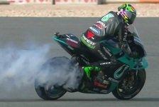 MotoGP Katar FP1: Defekte für Morbidelli, Aleix Espargaro voran