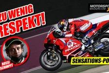 MotoGP - Video: Mangelnder Respekt in der MotoGP: Hat Valentino Rossi recht?