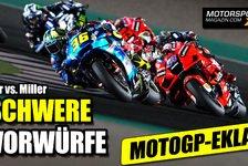 MotoGP - Video: MotoGP Katar II: Dicke Luft zwischen Joan Mir und Jack Miller