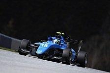 Formel 3 Test: Collet mit Streckenrekord bei Correa-Comeback