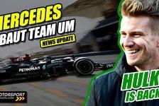 Formel 1 - Video: Mercedes F1-Technikchef tritt zurück, dafür kommt Hülkenberg