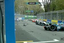 Formel E: Verrückter Auffahr-Unfall in Rom - Strafe für Turvey