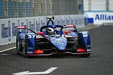 Formel E Rom: Zwei Rookies rutschen im Qualifying in Reihe eins