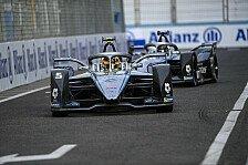 Formel E Rom: Mercedes vor Porsche im Samstags-Qualifying
