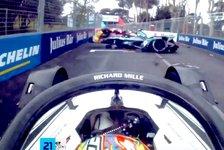 Formel E - Video: Formel E 2021: Unglaublicher Rom-Unfall im Video