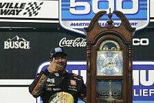 NASCAR 2021: Fotos Rennen 8 - Martinsville Speedway