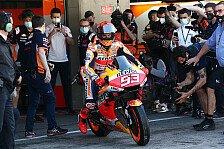 MotoGP Portimao: Marc Marquez beim Comeback im Spitzenfeld!
