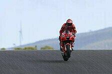 MotoGP Portimao: Bagnaia mit FP2-Bestzeit, Marquez wieder stark