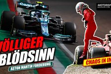 Formel 1 - Video: Wegen dieser Drohung lachen Vettels Gegner: Völliger Blödsinn!