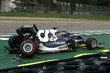 Formel 1, Tsunoda zieht Lehre aus Unfall: Keine Hetze mehr