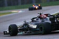 Formel-1-Analyse Imola: Warum Hamilton an Verstappen scheiterte