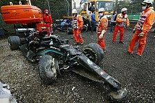 Formel 1 Imola: Heftiger Highspeed-Unfall von Bottas & Russell