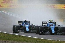 Alpine punktet glücklich: Fernando Alonso '300 Prozent besser'