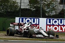 Formel 1 Imola: Bizarre Strafe kostet Räikkönen alle Punkte