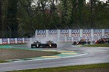 Formel 1, Verstappen beteuert: Keine Absicht bei Hamilton-Move