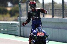 MotoGP - Quartararo lässt Muskeln spielen: Yamaha überall stark