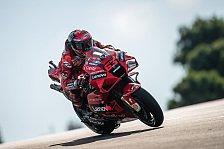 MotoGP Jerez: Bagnaia führt FP2 an, Marc Marquez weit zurück